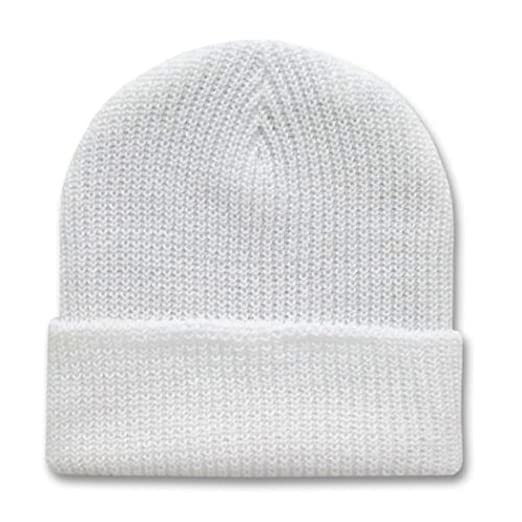 6fb95ed35b4 Image Unavailable. Image not available for. Color  Decky 12 Inch Long Knit  Watch Ski Cap Beanie ...