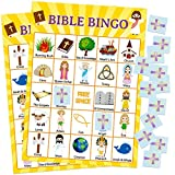 Fancy Land Bible Bingo Game for Vacation Bible