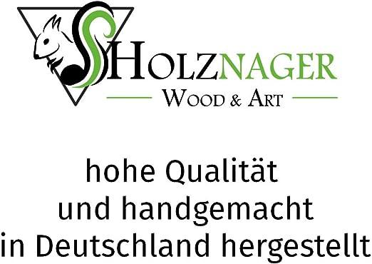 Holznager resistente alle intemperie realizzata a mano nella Foresta Nera Mangiatoia per scoiattoli da appendere Made in Germany