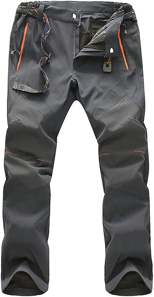 Geval Arrampicata Escursioni Pantaloni Antivento Esterna di secchezza rapido Traspirante da Uomo