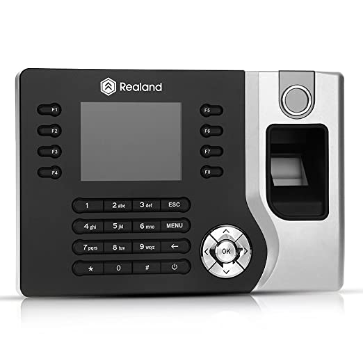 """5 opinioni per 2,4"""" TFT Orologio Marcatempo Lettore Impronte Digitali Registratore Biometrico"""