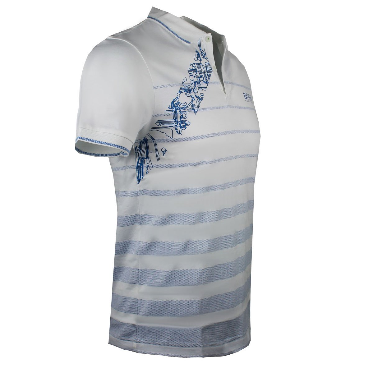 216809382 Amazon.com: Hugo Boss Mens Golf Polo Paule Pro 2 White Slim Fit 50389097  Small: Clothing