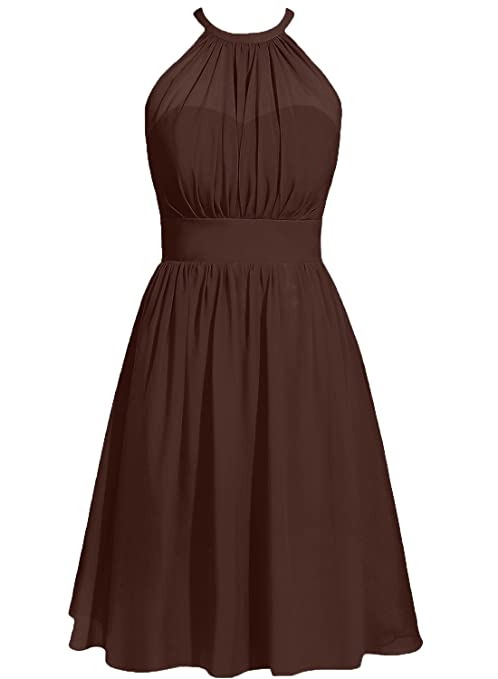 The 8 best chocolate brown bridesmaid dresses under 100
