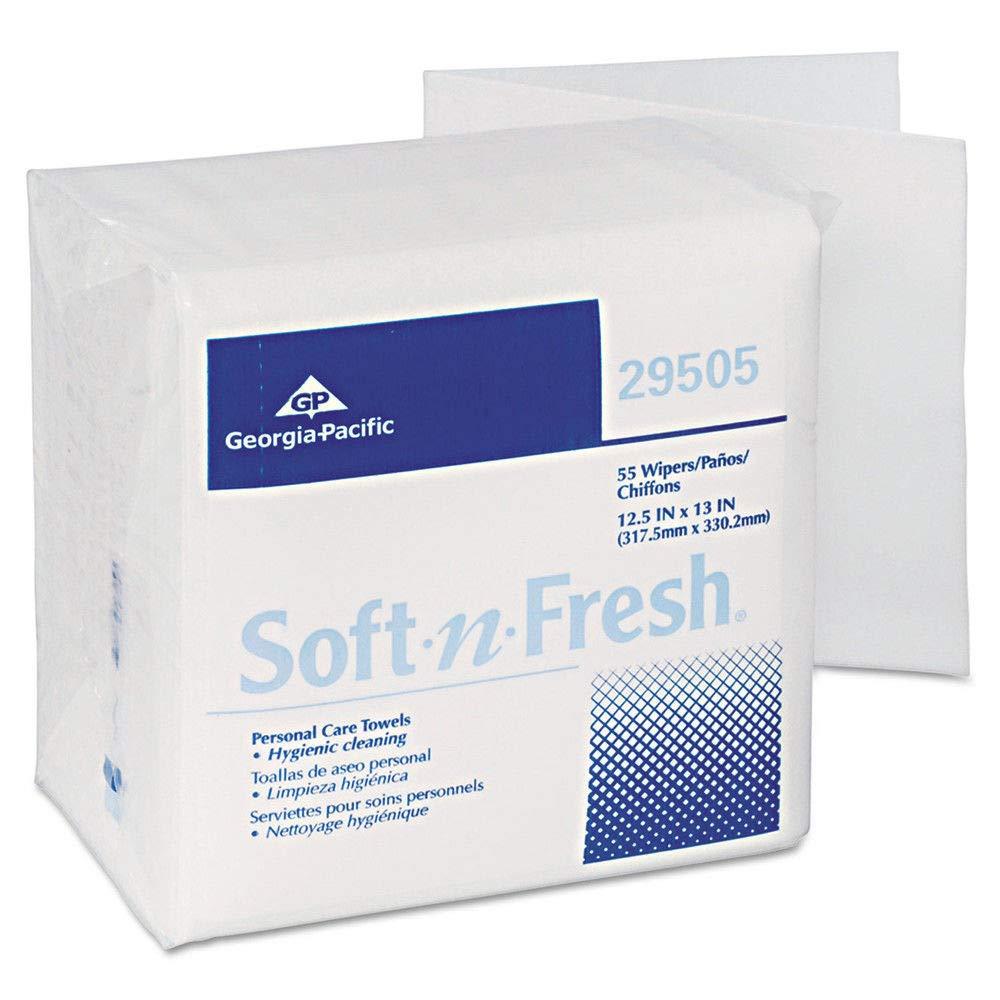 Georgia-Pacific 29505 Soft-N-Fresh Airlaid Wipers, 12 1/2 X 13, 990/carton: Amazon.com: Industrial & Scientific