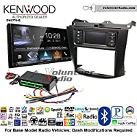 Volunteer Audio Kenwood DMX7704S Double Din Radio Install Kit with Apple CarPlay Android Auto Bluetooth Fits 2003-2007 Honda Accord