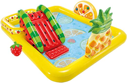 Intex 57158NP - Centro de Juegos de Frutas con tobogán y ...