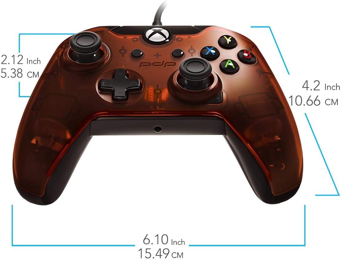 Pdp - Mando Con Cable Naranja Licenciado (Xbox One): Amazon.es ...
