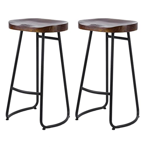 Wooden Breakfast Bar Stools: Amazon.co.uk