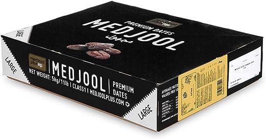 Datteri medjoul premium large con nocciolo 5 kg - datteri essiccati senza zucchero e senza zolfo B01N2K4P47