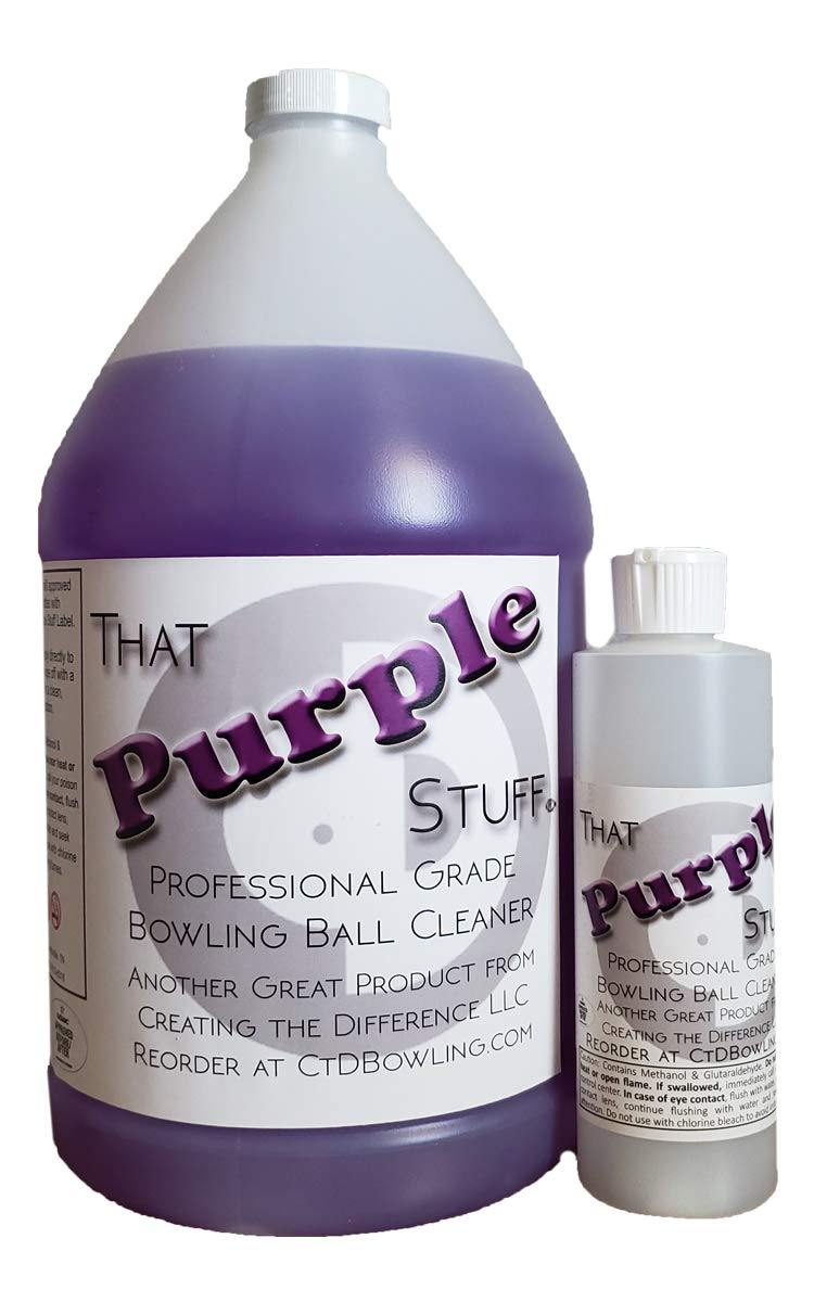 Creating the Difference That Purple Stuff Bowling Ball Cleaner 1 Gallon by Creating the Difference