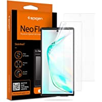 Spigen Samsung Galaxy Note 10 PLUS/Note 10+ 5G Neo Flex Screen Protector [2 Pack] - In-screen Fingerprint sensor compatible - Full cover Flexible