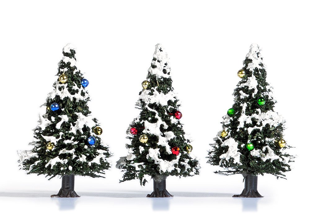 Vehicle /3/Snowy Christmas Trees Busch 6464/