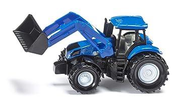 Siku frontlader new holland fahrzeuge blau amazon