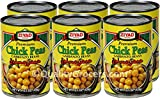 Ziyad Chick Peas Garbanzo Beans 15.5 ounce (6 cans)