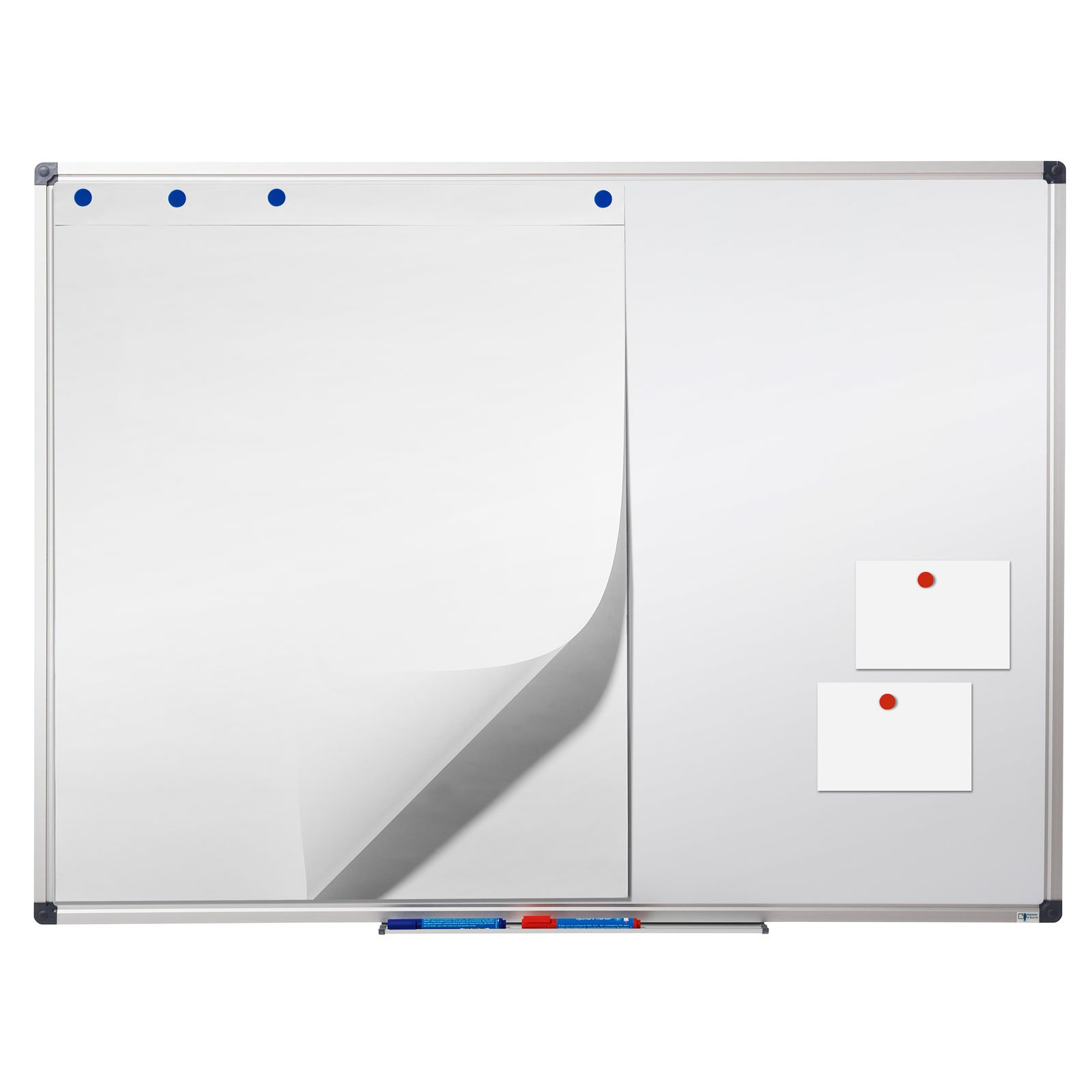 Master of Boards White Board | Magnet Dry Erase Board | Magnetic Message and Memo Planner for Commercial or Private Use | 4 Sizes | 36'' x 24'' by Master of Boards (Image #3)