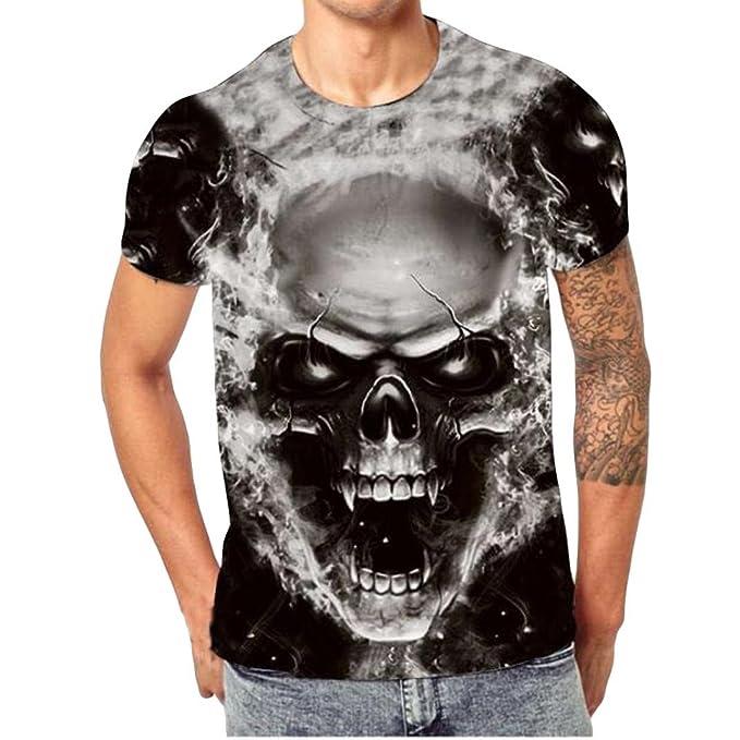 Uomo Slim o collo Manica Corta Muscolo Maglietta Manica lunga T-Shirt Maglia