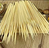 Kabob skewers PACK of 500 8 inch bamboo sticks made from 100 % natural bamboo - shish kabob skewers - (500)