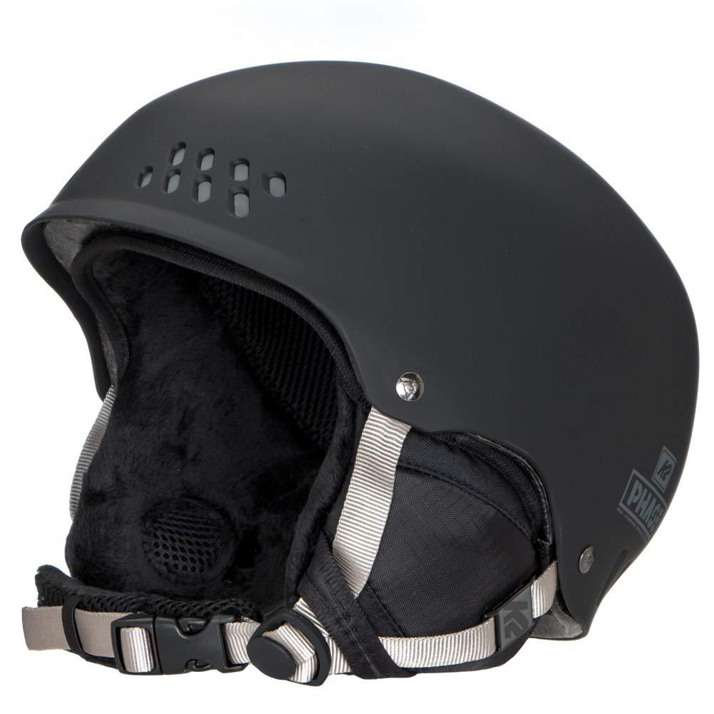 K2 Skis Herren Skihelm PHASE PRO schwarz 10B4000.3.1 Snowboard Snowboardhelm Kopfschutz Protektor