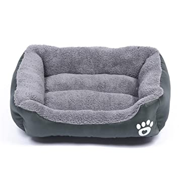 Wuwenw Cama para Perros Pequeños Y Medianos Perros Grandes 2XL Pet Dog House Warm Cotton Puppy Cat Beds para Cama Yorkshire Golden Big Dog, XL, ...