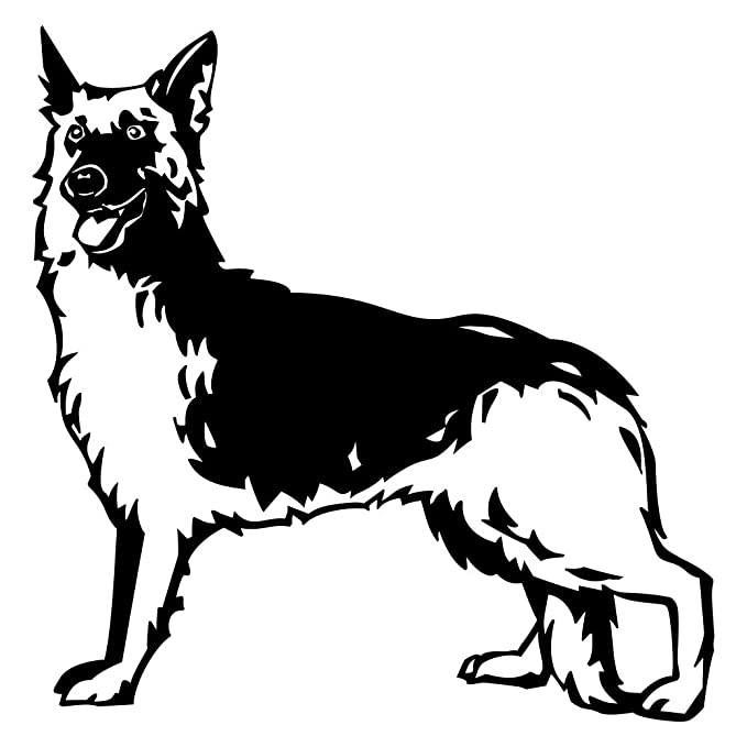 WandTattoo – Adhesivos decorativos pared Tattoo pared de perro de ...
