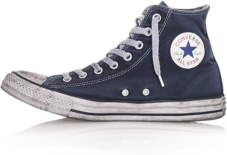 converse all star alte navy