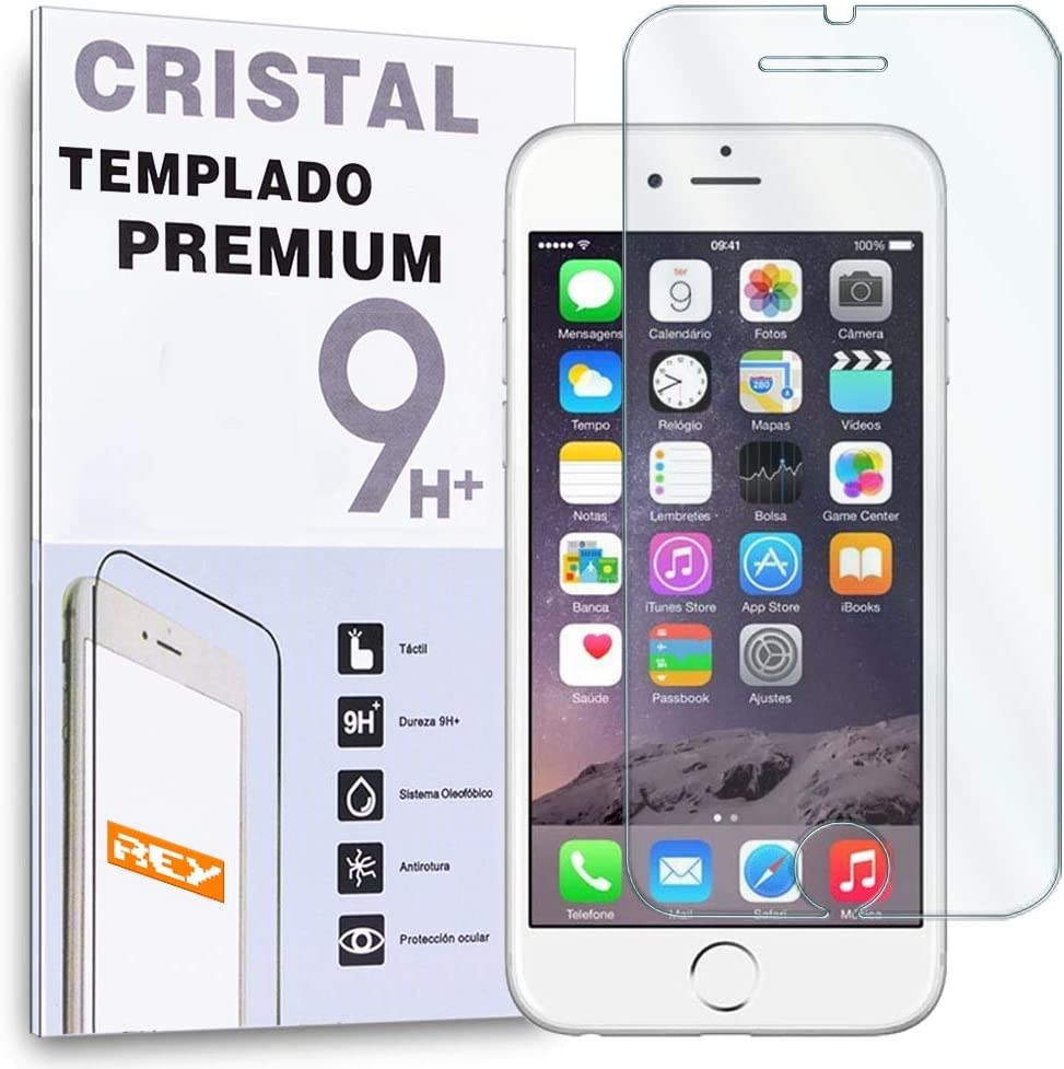 REY Protector de Pantalla para iPhone 6 Plus 6S Plus 5.5