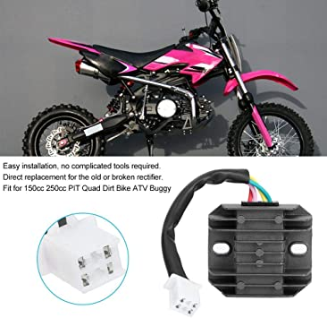 UAUS 12V 4Pin Voltage Regulator Rectifier 50 125cc 150cc PIT Quad Dirt Bike ATV Buggy