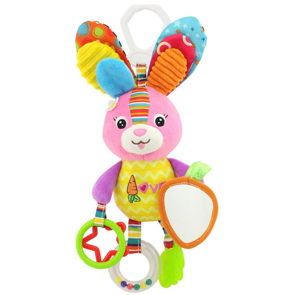 Elenxs - Mancuernas de Juguete para bebé, diseño de sonajero con ...