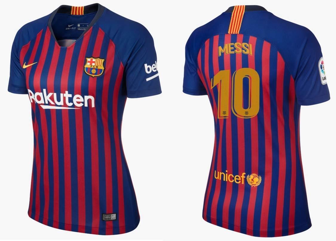 F.C. Barcelona Trikot Damen 2018-2019 Home - Messi 10