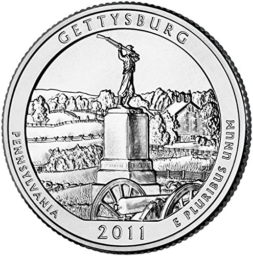 2011 D Gettysburg National Park Quarter Choice Uncirculated