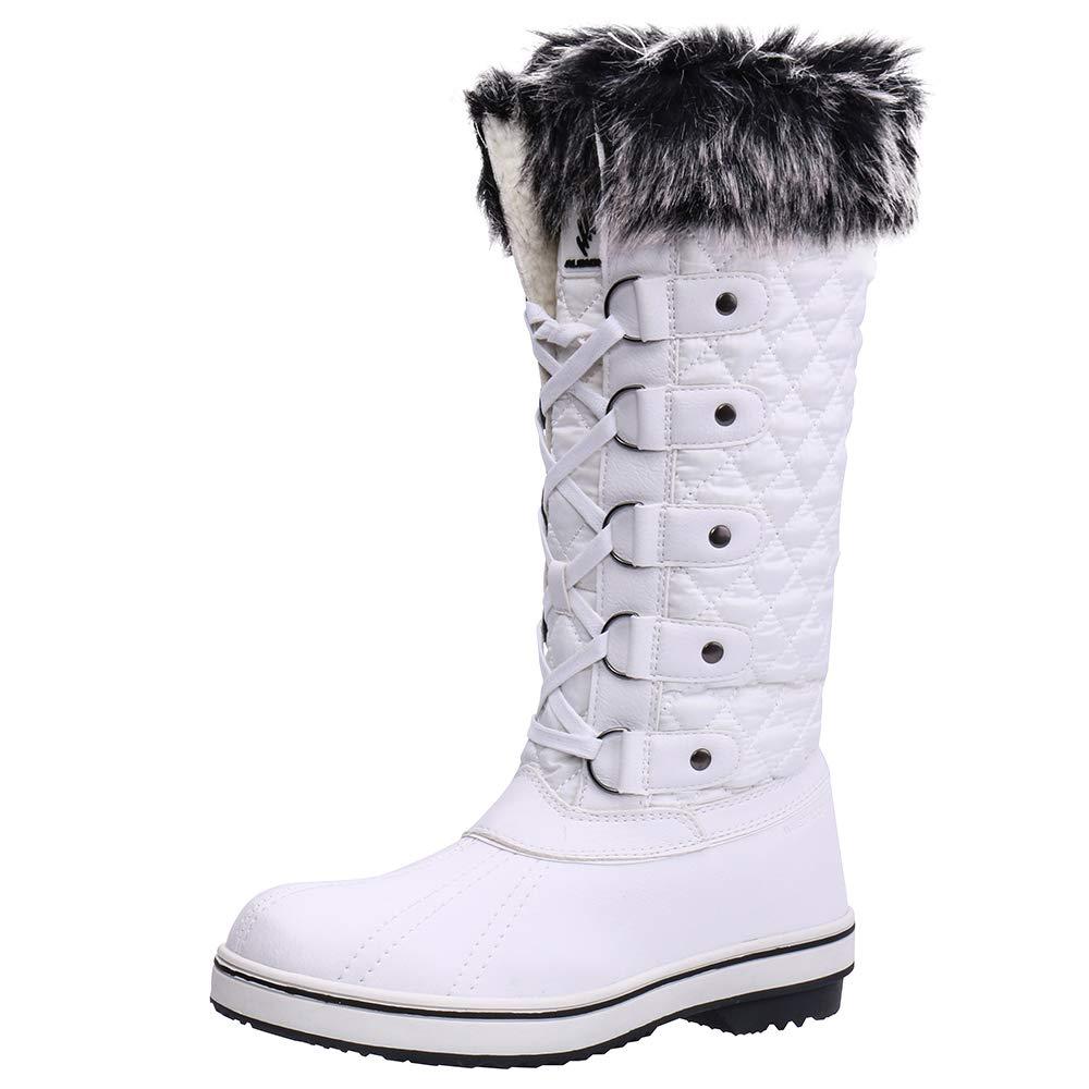 ALEADER Women's Waterproof Winter Snow Boots AL184123