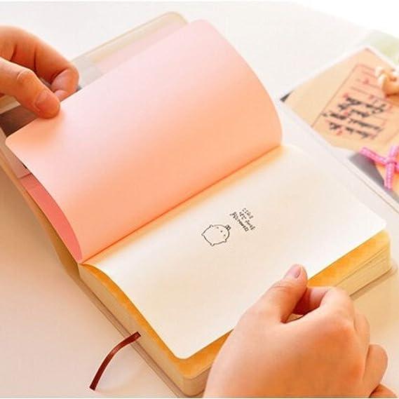 Amazon.com: Calendario bloc de notas creativo con dibujos ...