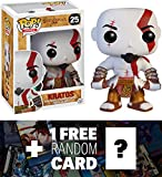 Kratos: Funko POP! x God of War Vinyl Figure + 1 FREE Video Games Themed Trading Card Bundle [34317]