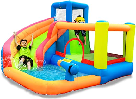 Summer Kids Inflatable Playground Toys, Castillo Inflable Piscina ...