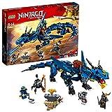 LEGO 70652 Ninjago: Masters of Spinjitzu: Stormbringer Building Set, Dragon Model, Ninja Construction Toy for Kids