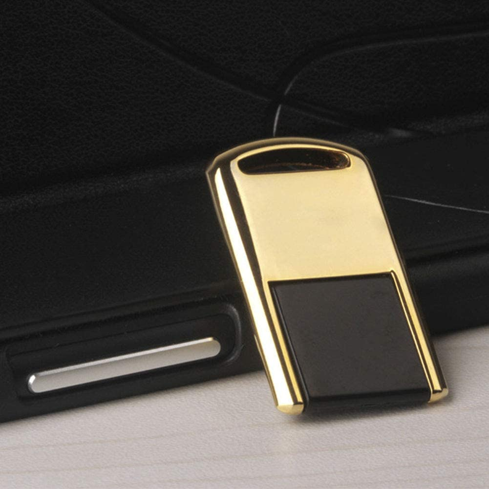 WNTHBJ USB 2.0 Compact Shiny Gold and Silver Metal USB Flash Drive with Personalized Mobile USB ,64gb 2PCS