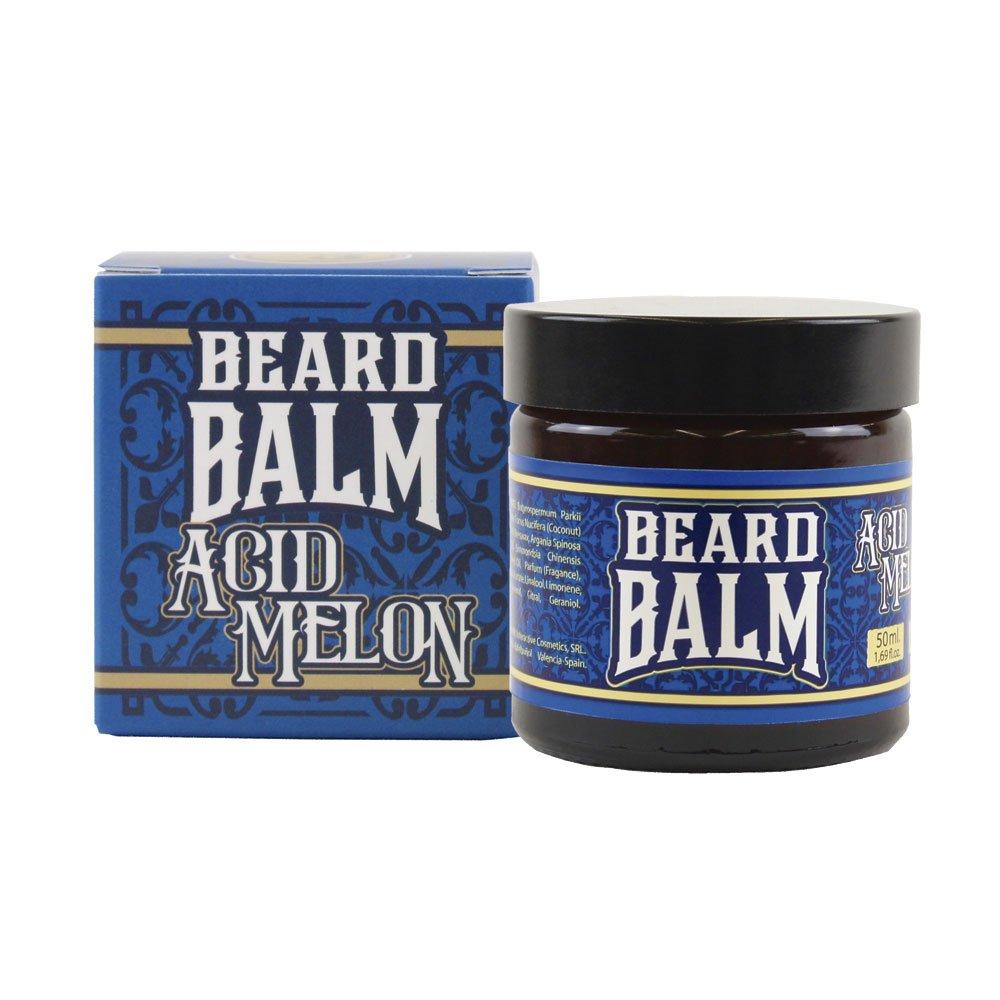 HEY JOE - Beard Balm Nº3 ACID MELON 50ml   Balsamo para barba 50ml con ARGÁN, JOJOBA, COCO y manteca de KARITÉ. Aroma a MELÓN INTERACTIVE COSMETICS SRL