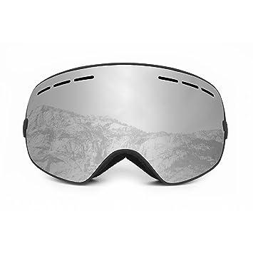 26b54264bda OCEAN SUNGLASSES Cervino Silver Snow Unisex Polarised Adult Goggles ...