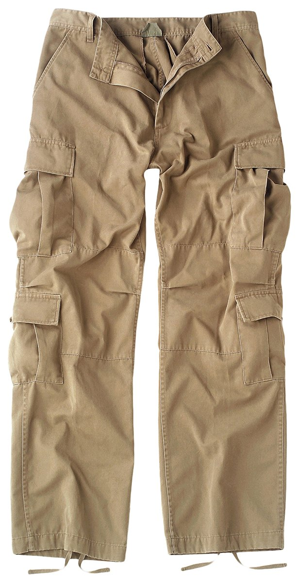 Rothco Vintage Paratrooper Fatigues, Khaki, Large 2686LRG rco-2686_Khaki_LRG