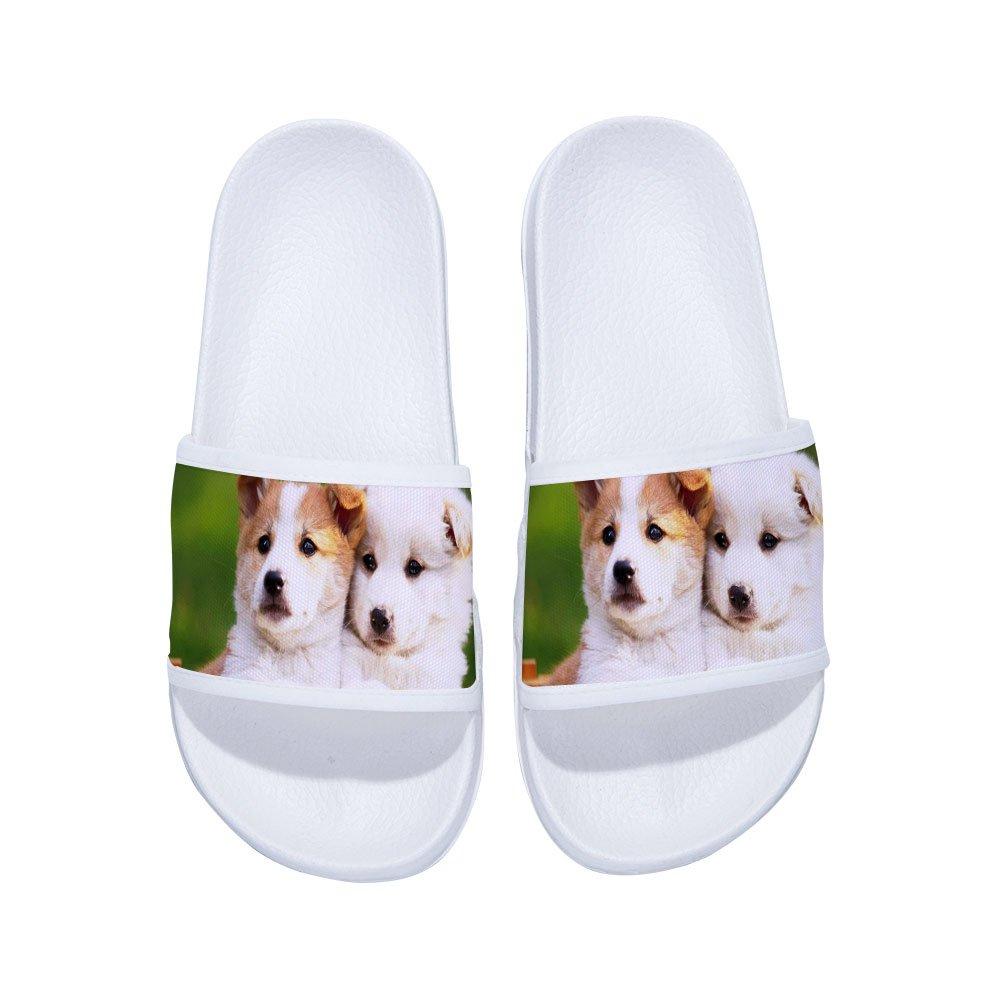 Boys Girls Casual Beach Wear Flip Flops Indoor Floor Slipper Anti-Slip Bath Slippers