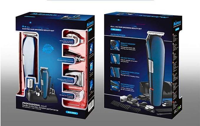 WYDM Kit Cuidado Personal,5 En 1 USB Cortadora Cabello ...