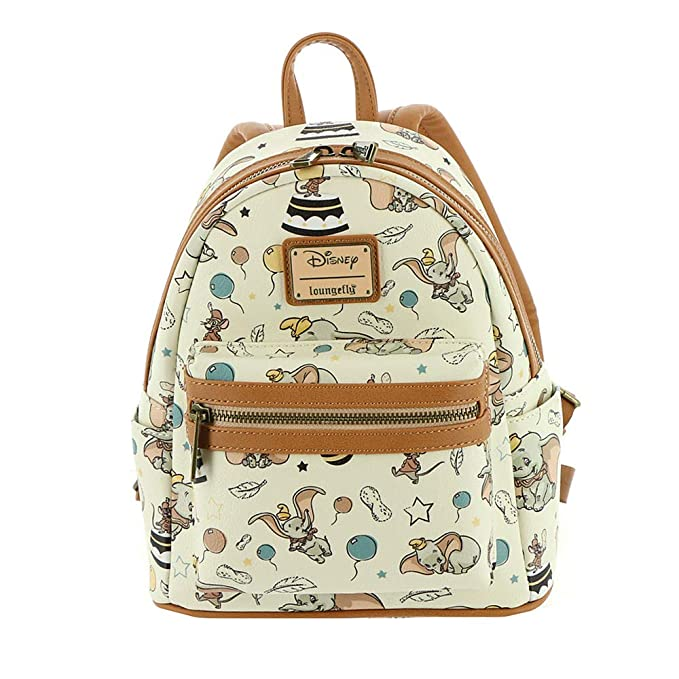 Loungefly Disney's Dumbo Faux Leather Mini Backpack Standard