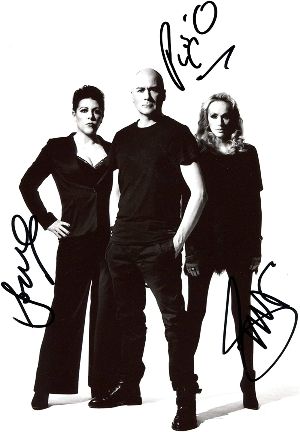 The Human League SYNTH POP BAND autographs, In-Person signed photo