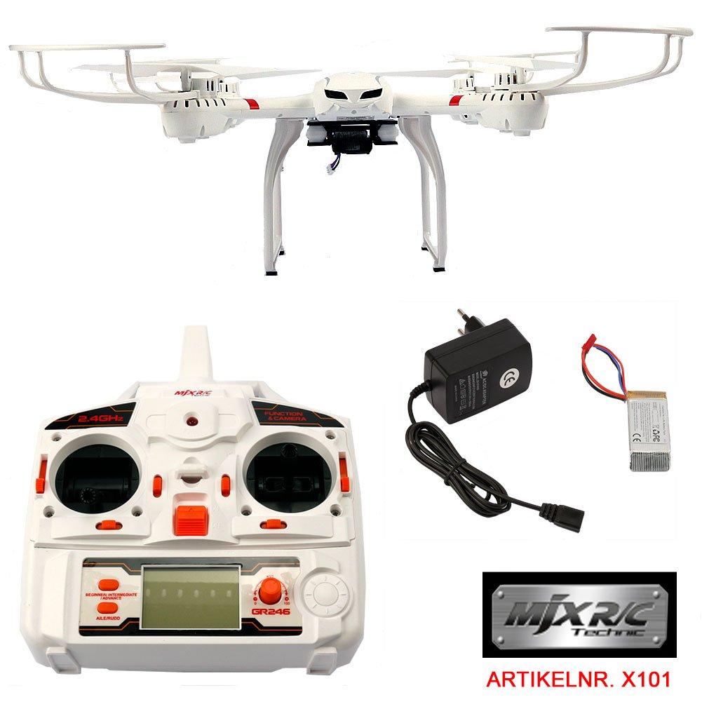 Dron cuadricóptero MJX X101 RC de FunTomia, con WiFi, tiempo real ...