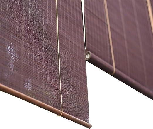 Cortinas enrollables de porche exterior enrolladas en tonos exteriores para patio/tienda de sol/ventana/pérgola o cenador, fácil de montar (tamaño: 100 x 220 cm): Amazon.es: Hogar
