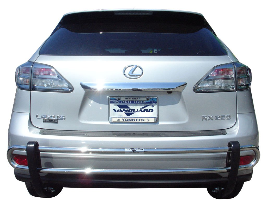 Amazon com vanguard 2010 2015 lexus rx350 rx450h rear bumper guard double tube s s automotive