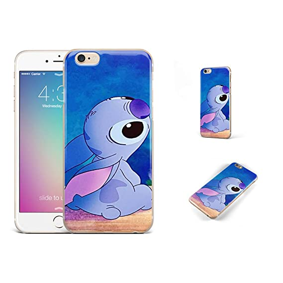 uk availability 5c5ba f9f45 GSPSTORE iPhone 6 Plus,iPhone 6S Plus case Lilo & Stitch Disney Cartoon  Cute Case Soft Transparent TPU Protector Cover for iPhone 6 Plus,iPhone 6S  ...