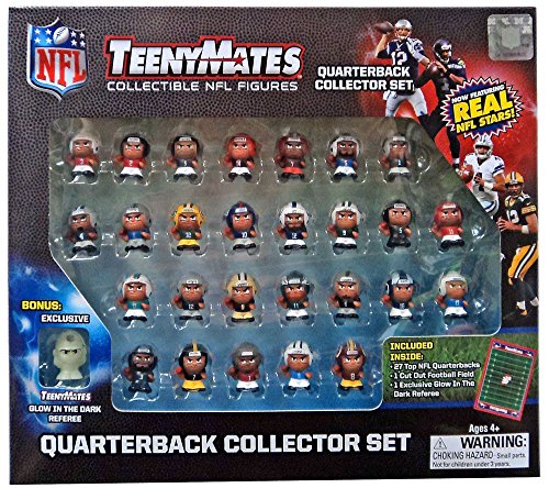 TennyMates Collectible NFL Figures Quaterback Set