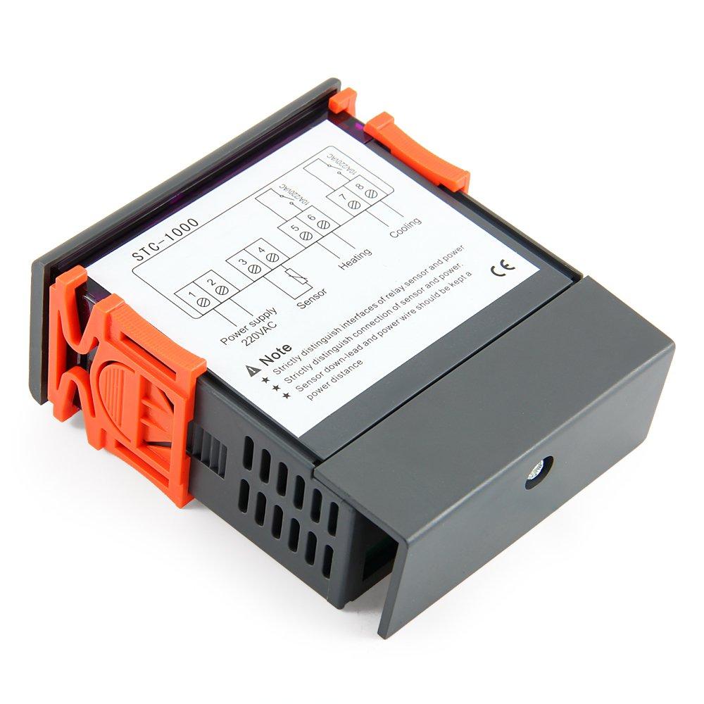 Digital Temperature Controller Thermostat For Aquarium Stc 1000 Wiring Diagram Diy Tools