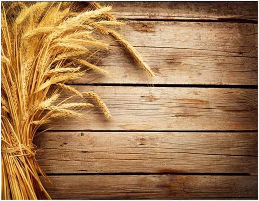 G d/écoration et suspensions Imitation des Accessoires de Photographie en Grain de Bois Fond de Photo 3D Pr/ésentation en Tissu LUCOG Fond de Photographie